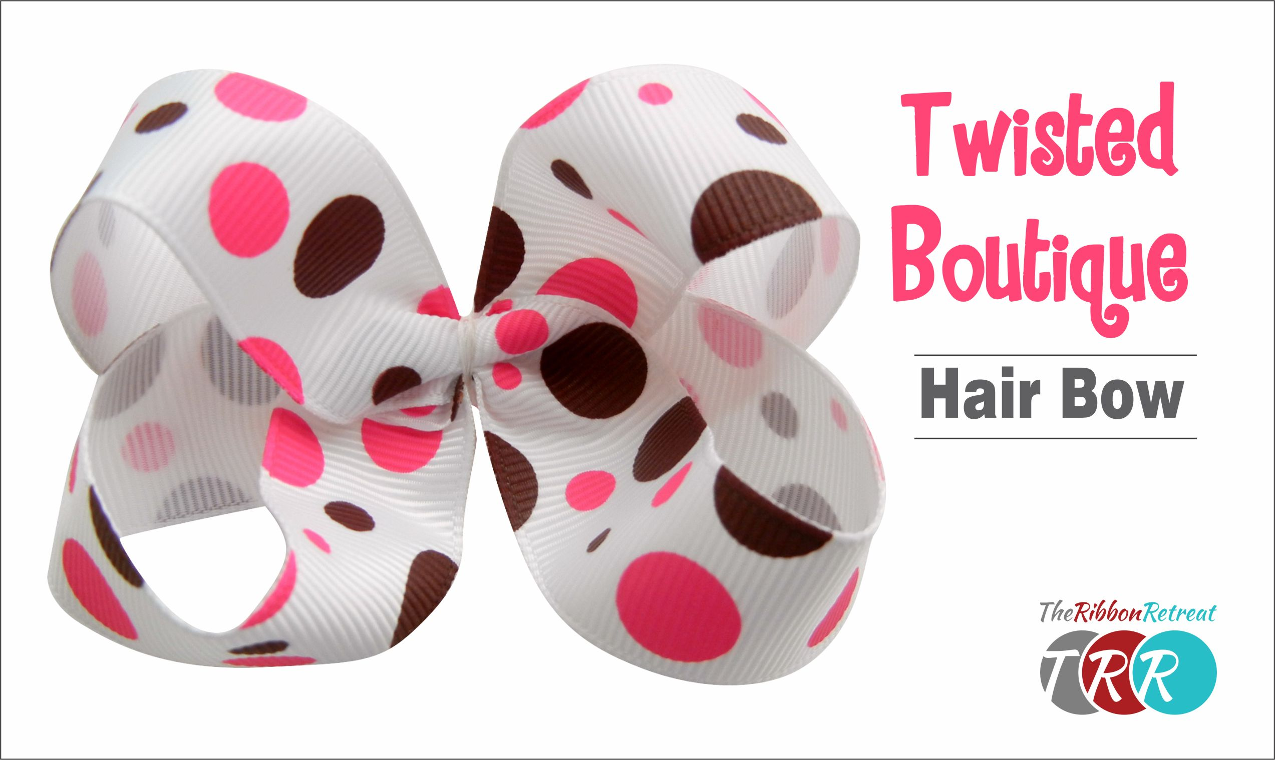 Twisted Boutique Hair Bow Video Tutorial